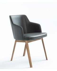 Skovby SM65 valnød læder